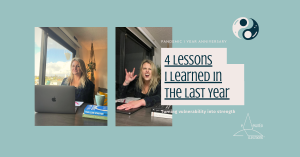 4 Lessons Learned in the Last Year