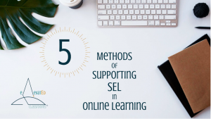 5 Methods to Support SEL in Online Learning